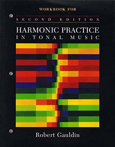 9780393976670: Workbook: for Harmonic Practice in Tonal Music, Second Edition