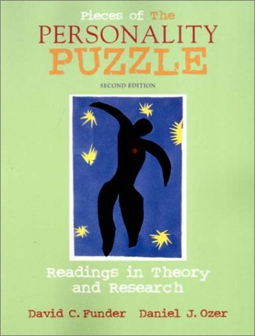 9780393976830: Pieces of the Personality Puzzle: Readings in Theory and Research