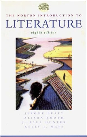 9780393976878: The Norton Introduction to Literature