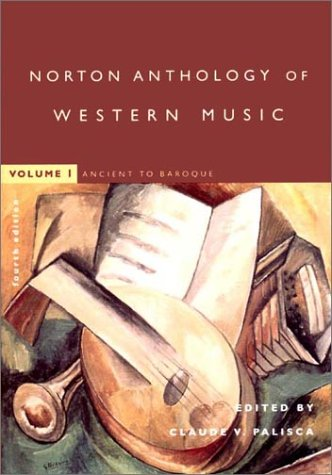9780393976908: The Norton Anthology of Western Music: Ancient to Baroque v. 1