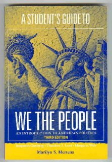 9780393976960: We the People: An Introduction to American Politics