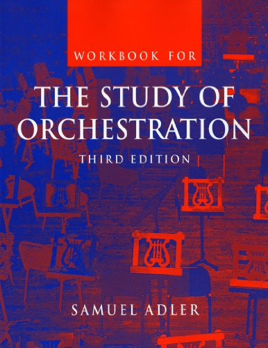 9780393977004: Workbook: for The Study of Orchestration, Third Edition (No. 1)