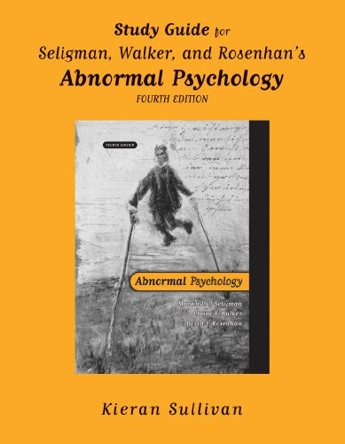 9780393977042: Abnormal Psychology(study Guide): Study Guide to 4r.e.