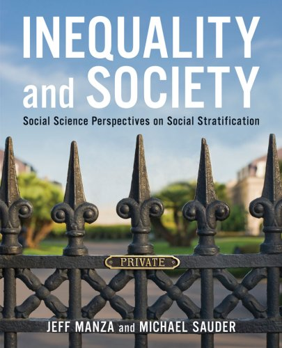 9780393977257: Inequality and Society: Social Science Perspectives on Social Stratification