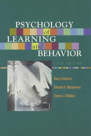 9780393977394: Psychology of Learning and Behavior: Instructor's Manual and Test-item File