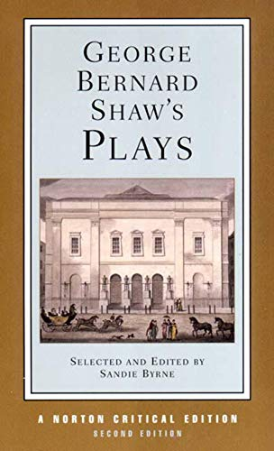 9780393977530: George Bernard Shaw's Plays (Norton Critical Editions)