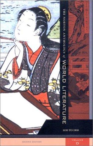 The Norton Anthology of World Literature, Vol.: Sarah N. Lawall,