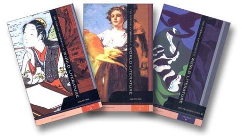 9780393977653: The Norton Anthology of World Literature, Volumes D-F: 1650 to the Present