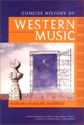 9780393977752: Concise History of Western Music