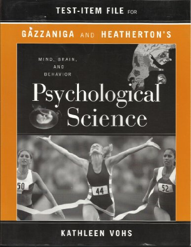 9780393977851: Psychological Science