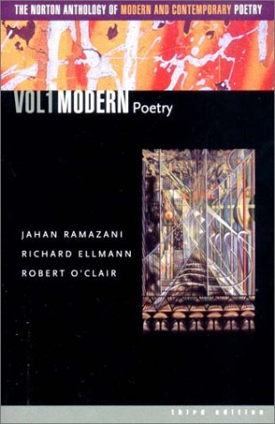 9780393977912: Norton Anthology of Modern and Contemporary Poetry: Modern Poetry v. 1: 001