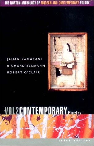9780393977929: The Norton Anthology of Modern and Contemporary Poetry, Volume 2: Contemporary Poetry