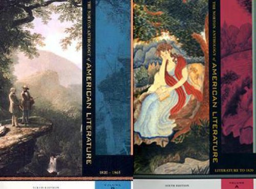 9780393977936: The Norton Anthology of American Literature, Package 1: Volumes A-B