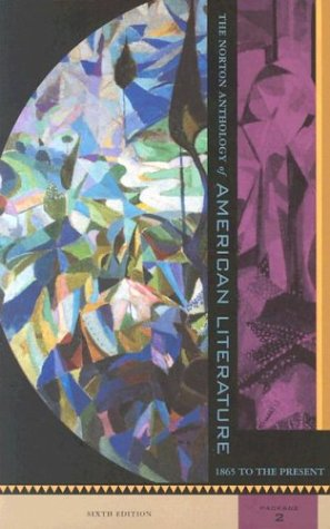 9780393977943: Norton anthology of american literature 2: Package 2