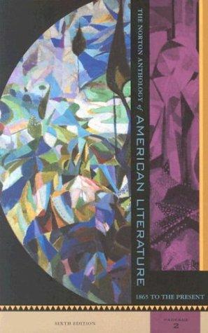 9780393977943: Norton Anthology of American Literature: Vol C D E