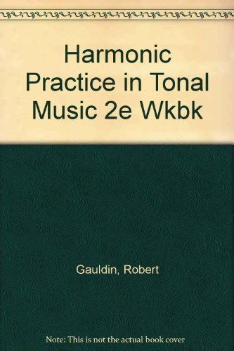 9780393978056: Instructor's Manual: For Harmonic Practice in Tonal Music