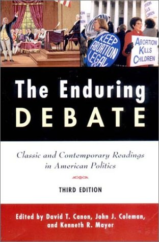 9780393978179: The Enduring Debate: Classic and Contemporary Readings in American Politics
