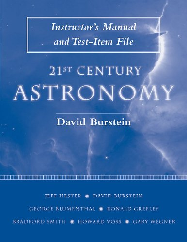 21st Century Astronomy: Instructor's Manual: Jeff Hester