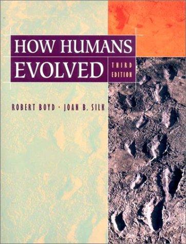 9780393978544: How Humans Evolved