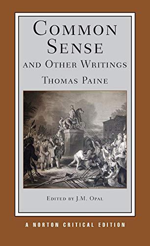 9780393978704: Common Sense and Other Writings: Authoritative Texts, Contexts, Interpretations