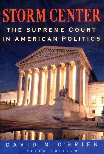 9780393978964: Storm Center: The Supreme Court in American Politics