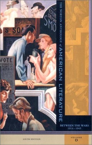 9780393979008: The Norton Anthology of American Literature: 1914-1945, Vol. D