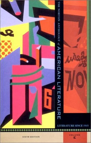 9780393979015: The Norton Anthology of American Literature Since 1945, Vol. E