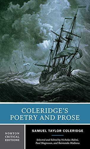 9780393979046: Coleridge's Poetry and Prose: Authoritative Texts, Criticism