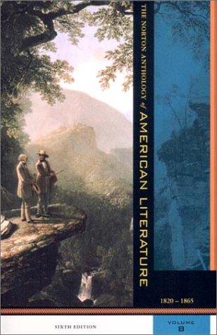 9780393979053: The Norton Anthology of American Literature: 1820-1865 v. B