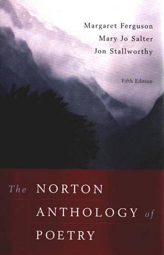 The Norton Anthology of Poetry: Margaret Ferguson, Mary