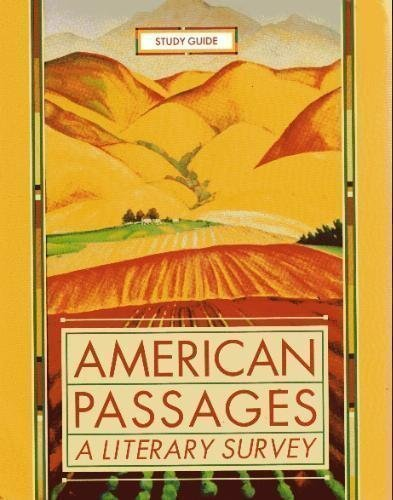 9780393979398: American Passages: A Literary Survey Study Guide