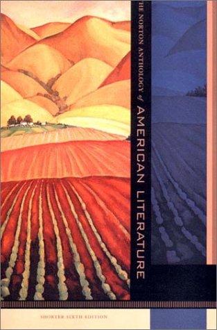 9780393979695: The Norton Anthology of American Literature: Shorter Version by Judith Tanka (2003-01-01)