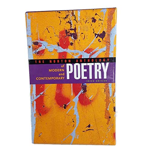 9780393979770: The Norton Anthology of Modern and Contemporary Poetry