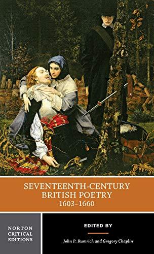 9780393979985: Seventeenth-Century British Poetry, 1603-1660 (Norton Critical Editions)