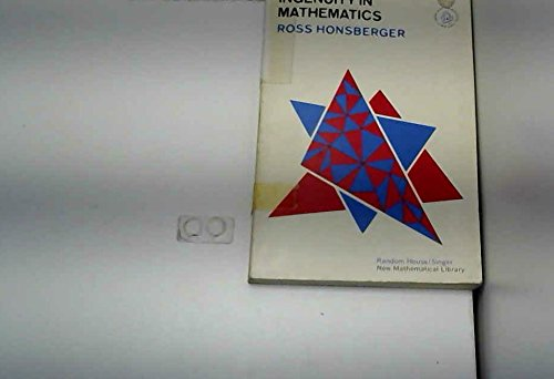 Ingenuity in Mathematics [New Mathematical Library #: Honsberger, Ross