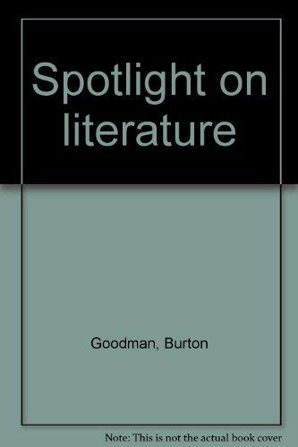 9780394042879: Spotlight on literature