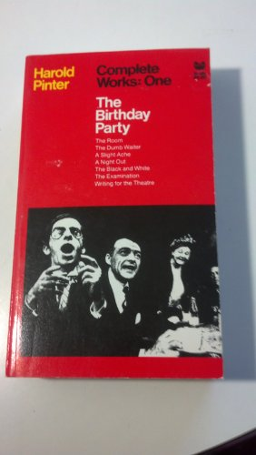 an analysis of the play the birthday party by harold pinter This one-page guide includes a plot summary and brief analysis of the birthday party by harold pinter the birthday party by harold pinter is the birthday party.