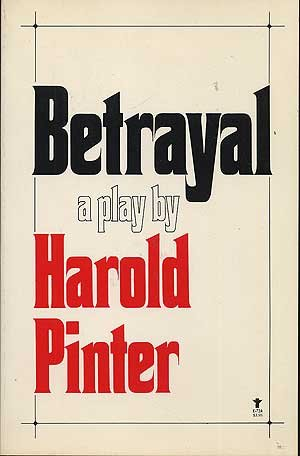 9780394170848: Betrayal: A Play