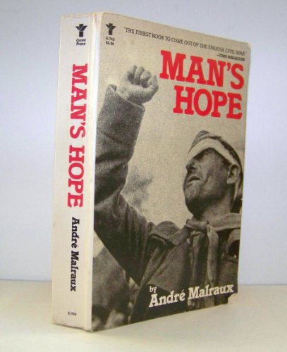 9780394170930: Man's Hope (An Evergreen Book)