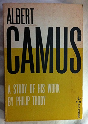 9780394171944: Albert Camus: A Study of His Work