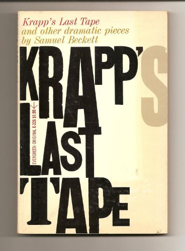 9780394172231: Krapp's Last Tape and Other Dramatic Pieces
