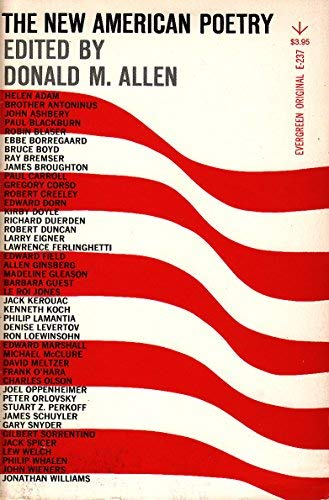 9780394172255: The New American Poetry, 1945-1960