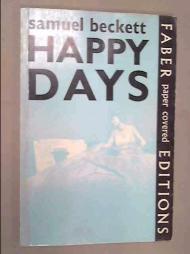 9780394172330: Happy Days a Play By Samuel Beckett