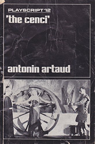 The Cenci: A Play (Evergreen E-532): Artaud, Antonin (Translated from the French by Simon Watson ...