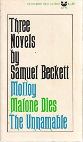 9780394172996: Three Novels by Samuel Beckett: Molloy, Malone Dies, The Unnamable (English and French Edition)