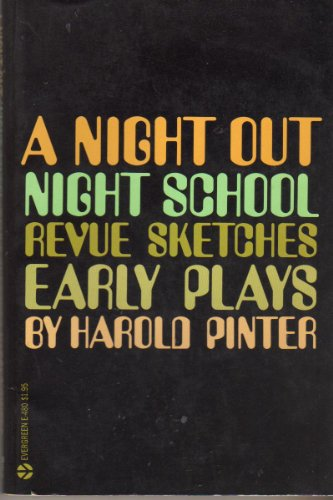 9780394173108: A Night Out. Night School. Revue Sketches. Early Plays.