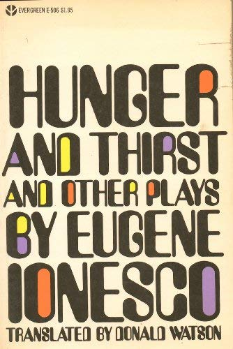 9780394173160: Hunger and Thirst, and Other Plays (English and French Edition)