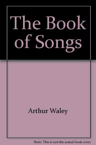 9780394173313: Title: Book of Songs