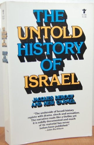 9780394176512: The Untold History of Israel