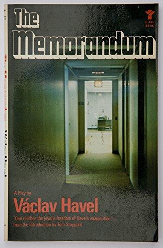 The Memorandum (An Evergreen Book): Havel, Vaclav